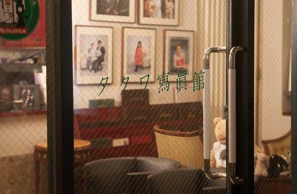 タクワ写真館ドアの写真